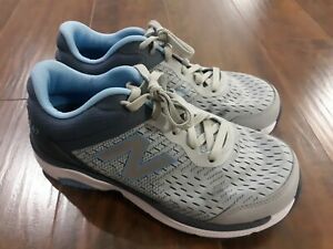 New Balance 847 Gray Athletic Shoes Sneakers Womens Size 10 Extra Wide (4E)
