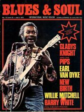 Chuck Berry Blues & Soul Issue 112 1973    Barry White    Earl Van Dyke   Reggae