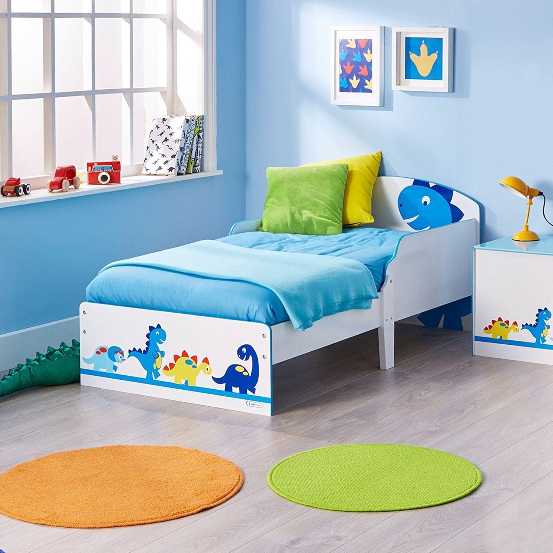 Dinosaures Junior Bébé Lit Enfants Chambre à coucher-facile à assembler