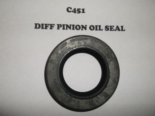 MG MIDGET TD TF ZA ZB MAGNETTE YB 4//44 15//50 OXFORD MO DIFF PINION OIL SEAL