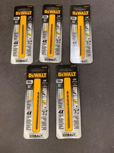 DEWALT Drill Bit DWA1216 1//4-Inch Pilot Point Industrial Cobalt