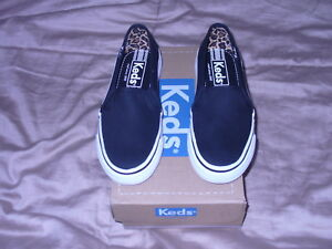 33678dadb2d Image is loading Youth-Girls-Keds-Double-Decker-Canvas-slip-on-