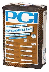 PCI Flexkleber S1 Flott 20,0kg ersetzt Nanoflott für großformatige Bodenfliesen
