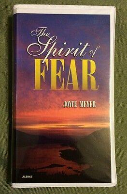 The Spirit Of Fear Joyce Meyer Audio Cassette Book On Tape Faith Christ Religion