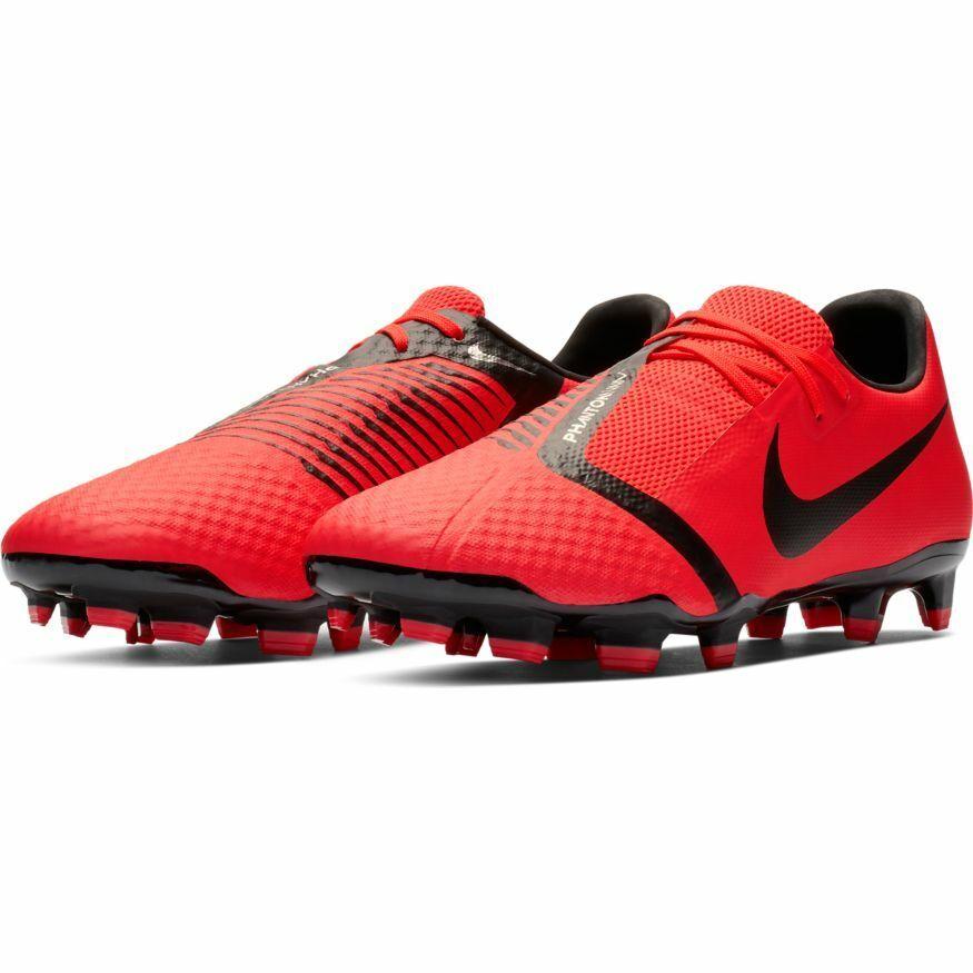huge discount fe5a2 f2bd5 Scarpe calcio fisse uomo Nike Phantom Phantom Phantom Venom Academy FG  AO0566-600 Rosso-Nere 6b39a9