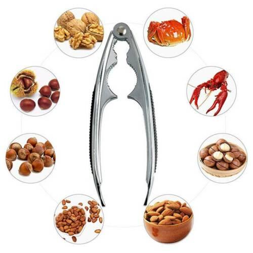 """6/"""" Nutcracker Chestnut Clip Nut Cracker Sheller Walnut Pliers Metal Opener Tool"""