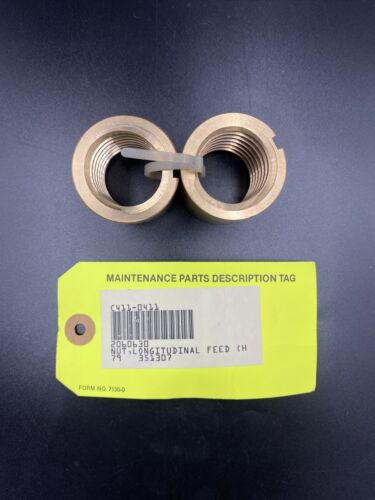 Bridgeport Milling Nut X-Axis Matched Longitudinal Feed 2060630 New Old Stock