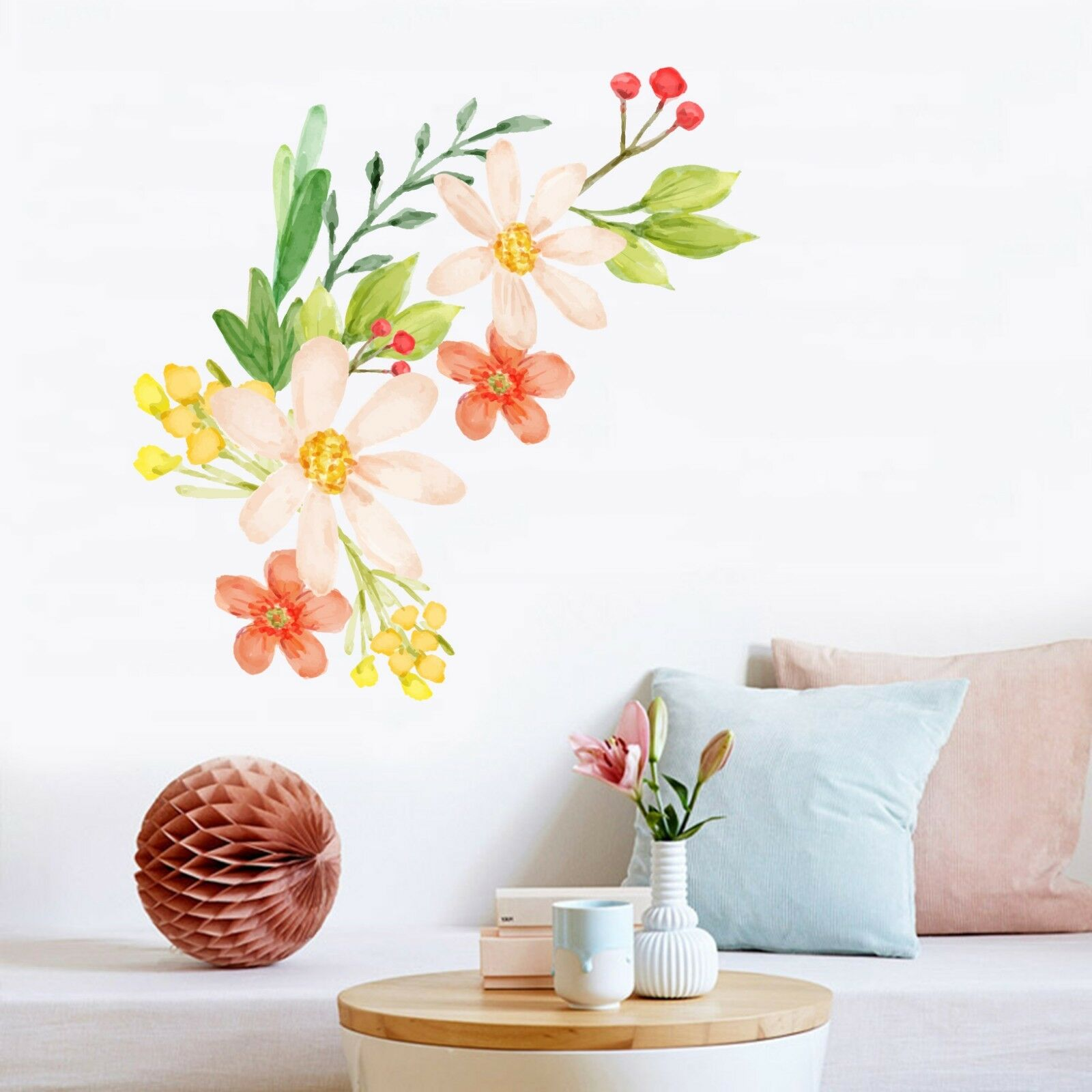 3D Beautiful Flower 51 Wallpaper Murals Floor Wall Print Decal Wall Sticker AU