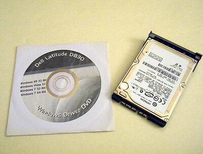 7 Pro 64 /& Drivers Preinstalled Dell Latitude E4310 160GB Hard Drive with Caddy