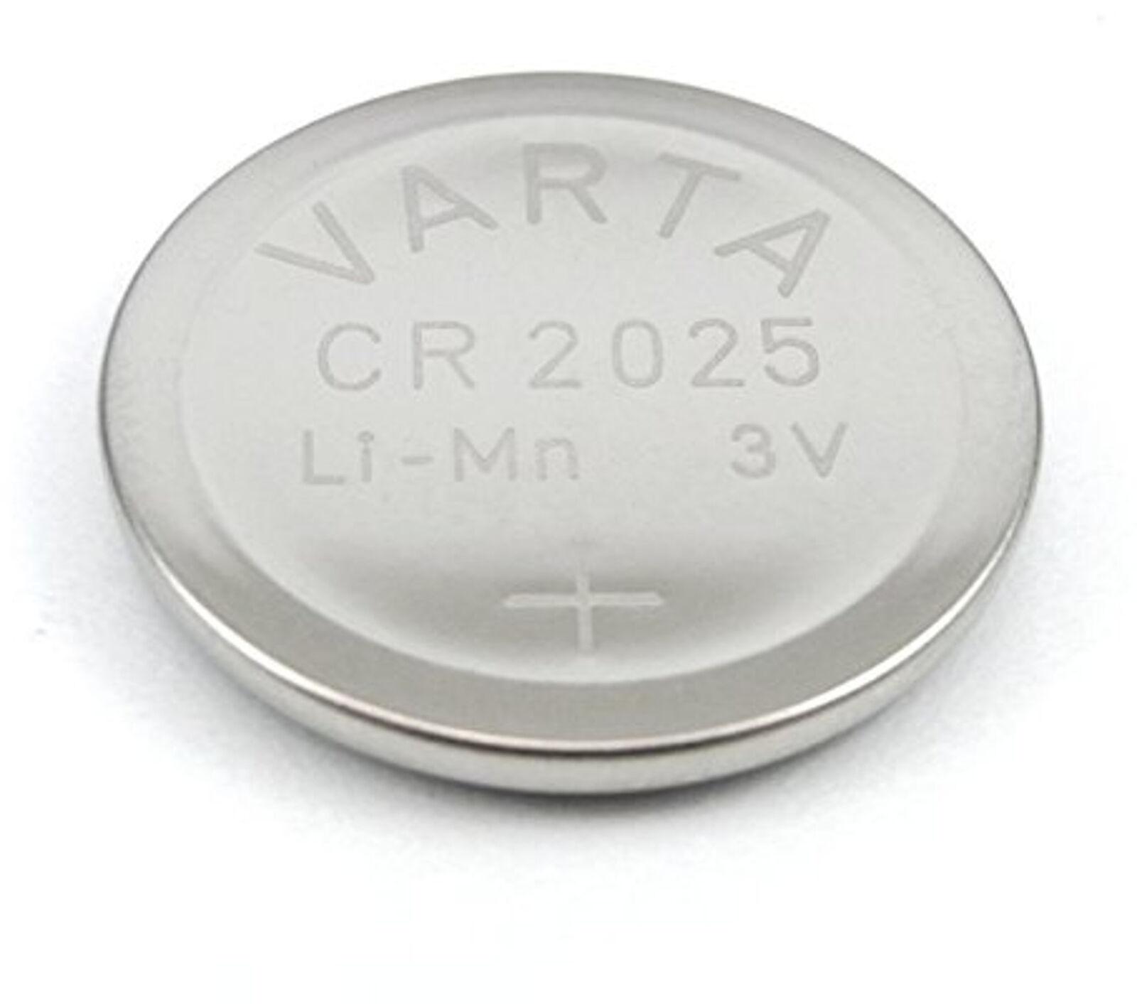 200x CR2025 3V Batterie Lithium Knopfzelle Bulk Varta CR 2025