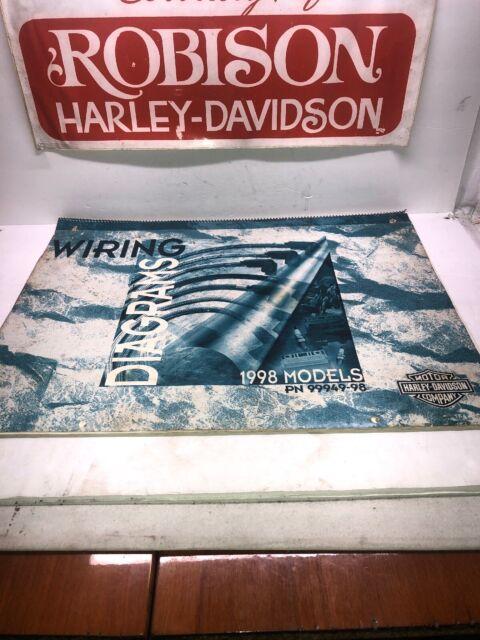Harley Davidson 1998 Dealer Wiring Diagrams Part  99949