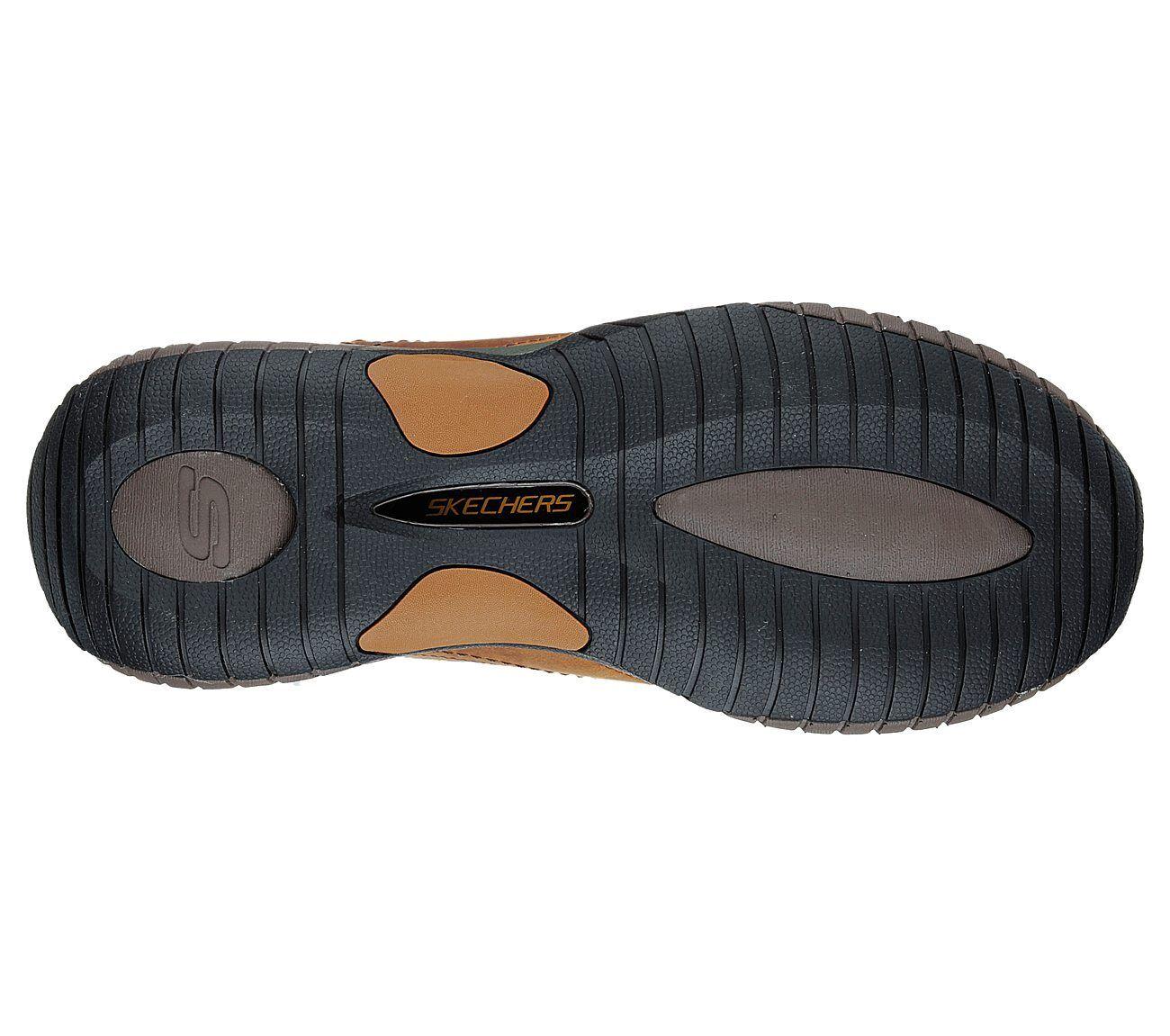 Skechers Foam Sendro Bascom Trainers  Uomo Memory Foam Skechers Slip On Leder Schuhes e39a09