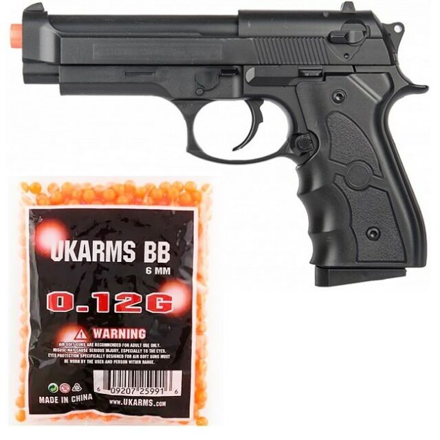 Uk Arms M8 Spring Airsoft Gun M8b For Sale Online Ebay