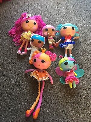 Lalaloopsy Liberal Lalaloopsy Dolls Bundle Some Rare And Retired Lalaloopsy