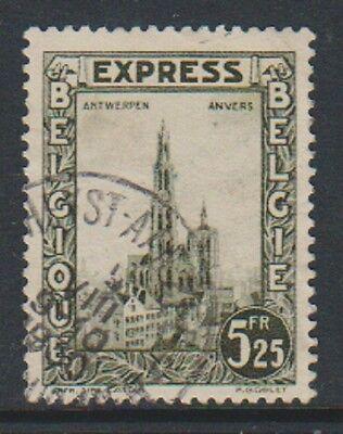 5f25 Express Brief / U StraßEnpreis b Sg E533 UnermüDlich Belgien 1929