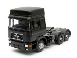 LKW MAN F90 Zugmaschine 3-achsig grün Hochdach DM-Toys 17117 Spur N NEU