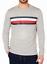 Tommy-Hilfiger-Mens-Modern-Essentials-Logo-Stripe-Long-Sleeve-T-Shirt-Gray-Sz-XL thumbnail 1