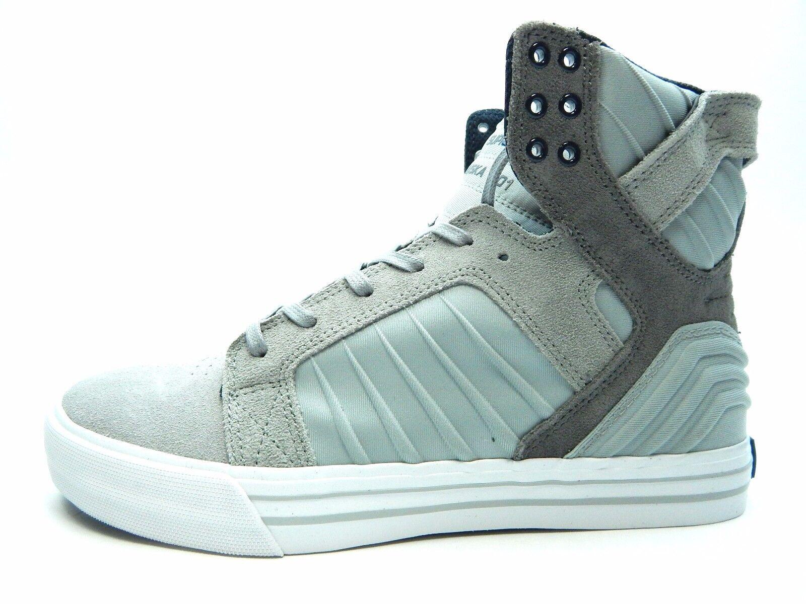 Supra Men Skytop Evo Grey White 08030-034-M men shoes