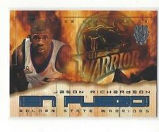 2002-03 FLEER BASKETBALL HOT SHOTS EN FUEGO JASON RICHARDSON #4 OF 12 EF #EF4