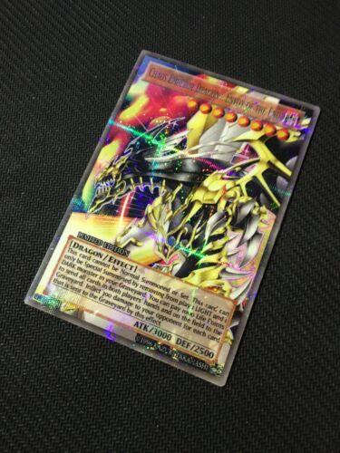 YUGIOH Orica Parallel Chaos Emperor Dragon Holo Card Handmade Token