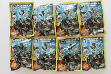 Lot of 8 DC Super Heroes Surprise Blind Grab Zags Figures Series 1