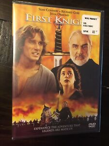 First Knight Dvd 1997 Sean Connery Richard Gere Julia Ormond Subtitles 43396711792 Ebay