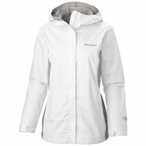 NWT COLUMBIA WOMEN RAIN HOODED JACKET COAT SIZE L SIZE XL $90