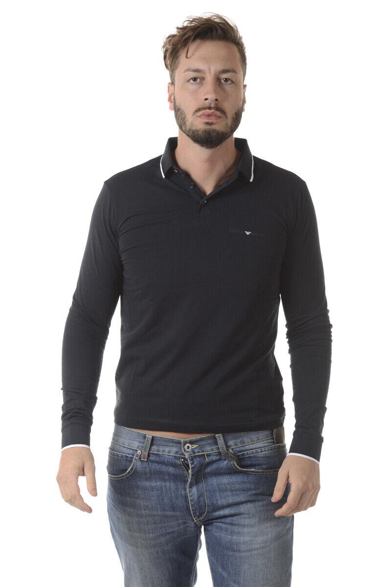 Emporio Armani EA7 Polo Shirt Cotton Man Blau 6YPF62PJ03Z 1578 Sz. XL PUT OFFER