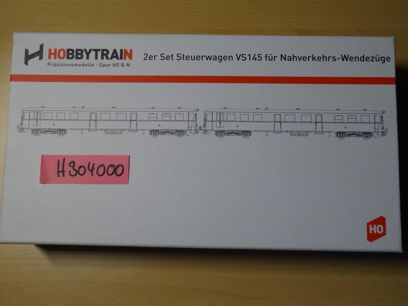 Hobbytrain  DC Art 304000 Steuerwagen-Set VS 145 DB Ep 3 rot   Neuware  OVP