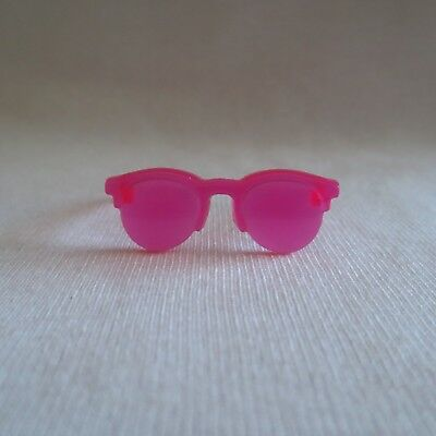 NEW Barbie Style Glam Vacation Summer Beach Doll Pink Sunglasses Glasses