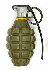"""Replica U.S. WWII - Mid-War - MK 2 """"Pineapple"""" Hand Grenade - Plastic Prop"""