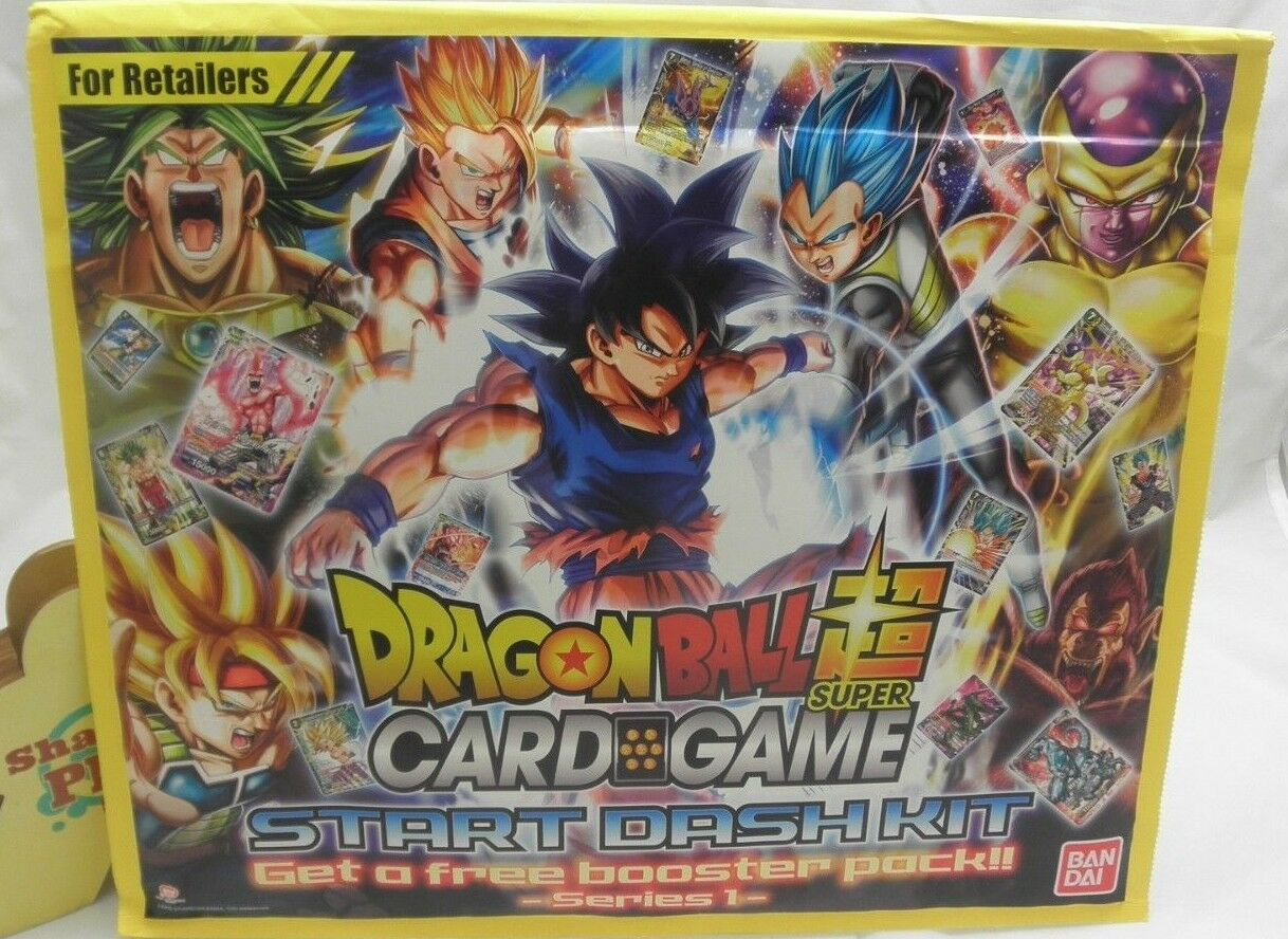 Dragon Ball Super Card Game Start Dash Kit Series 1 Nuovo  Sealed  Out of Print