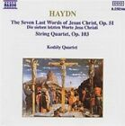 Haydn: The Seven Last Words of Jesus Christ, Op. 51; String Quartet, Op. 103 (CD, Oct-1990, Naxos (Distributor))