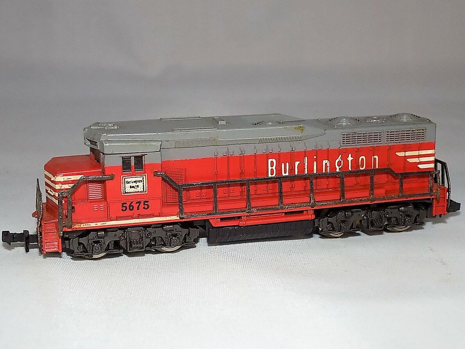 N Scale Lima Vintage 264 GP30 Burlington USA Rd. No. 5675 Diesel Locomotive