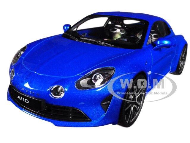 2017 RENAULT A110 ALPINE blu 1 18 DIECAST CAR MODEL BY NOREV 185148