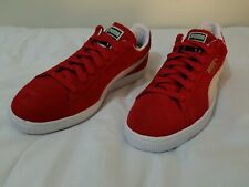 size 40 ba248 fcb43 item 8 Puma Suede Classic Low Red White Men Women Shoes Sneakers 352634-65  - Size 11.5 -Puma Suede Classic Low Red White Men Women Shoes Sneakers  352634-65 ...