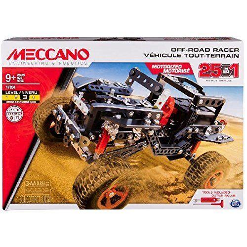 Meccano Multi Modello Veicolo Fuoristrada Motorizzato 406 pz