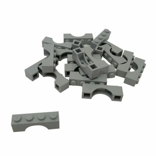 20 NEW LEGO Brick Arch 1 x 4 Light Bluish Gray
