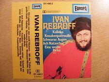 Musikkassette Ivan Rebroff / Ivan Rebroff - Europa Blau