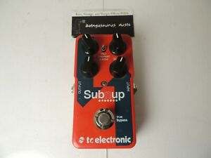 TC Electronics Sub 'N Up Octave Effects Pedal Guitar Free USA Ship
