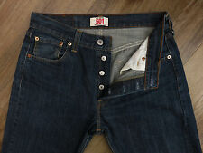 Top American Designer LEVI STRAUSS 501 Straight Leg Button Fly Jeans W30 L32