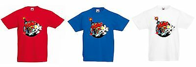 Super Cool Danger Mouse Boom! Design T-shirt, Fun, Funky, Retro  (Adult)