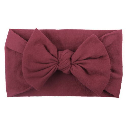 Kids Baby Girls Turban Knot Rabbit Headband Bow Head Wrap Gifts Hair bands GOUS