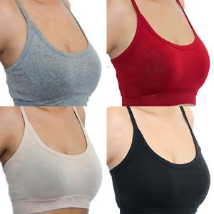 innovative design cc804 c42e3 Details zu Damen Bustier Bio-Baumwolle Sport BH GOTS Top Unterhemd Yoga  Fitness