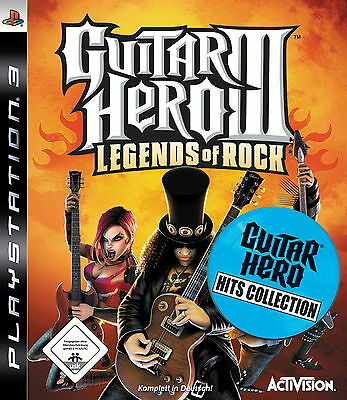 Guitar Hero III Hits Collection: Legends Of Rock (Sony PlayStation 3)