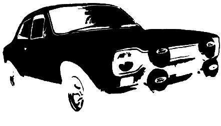 POST 1969 serie completa MK1 escort DE LUXE diagramma di cablaggio