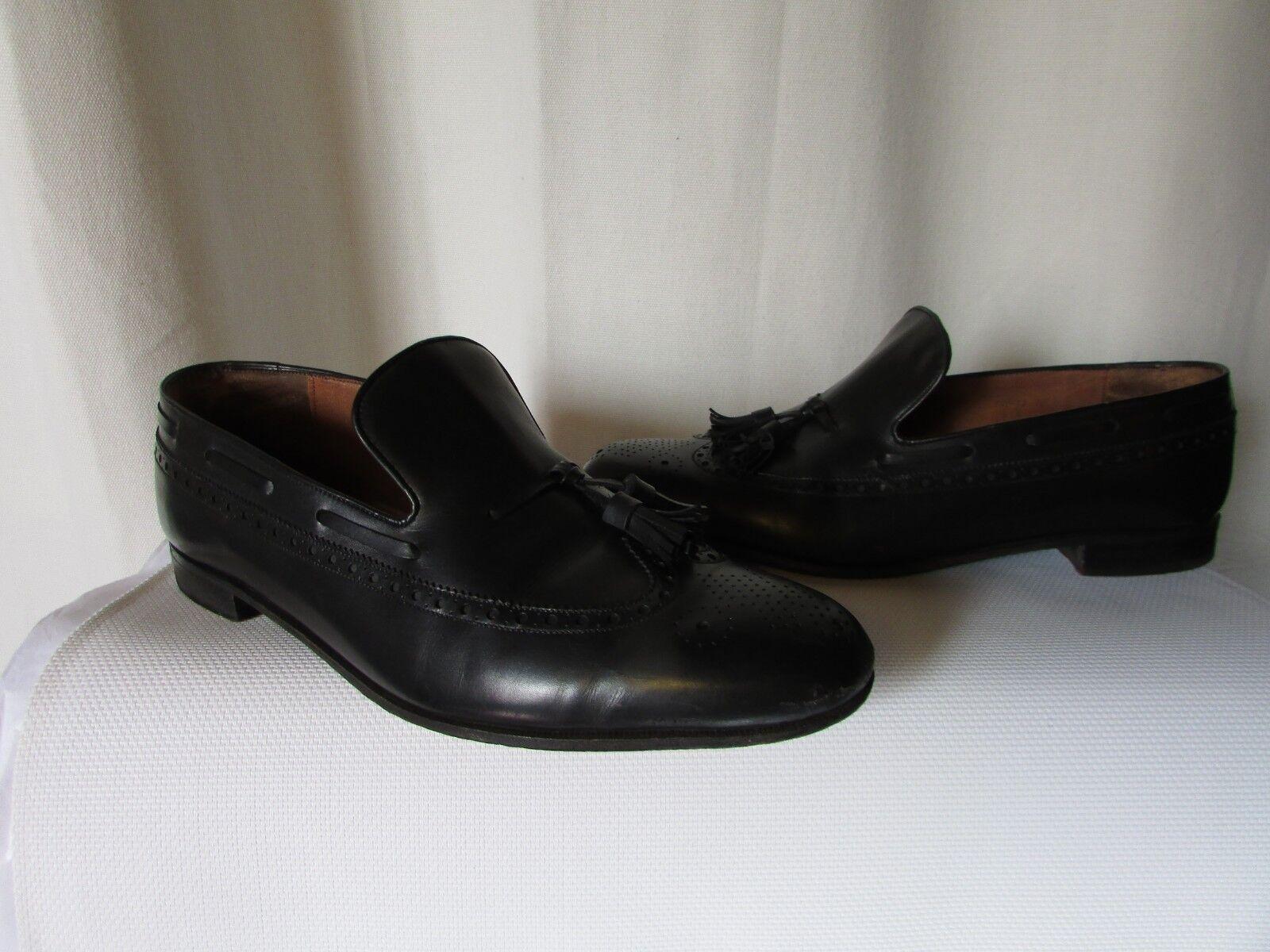 trova il tuo preferito qui Mocassini vintage weston pelle nera numero numero numero 9E  vendita scontata online di factory outlet