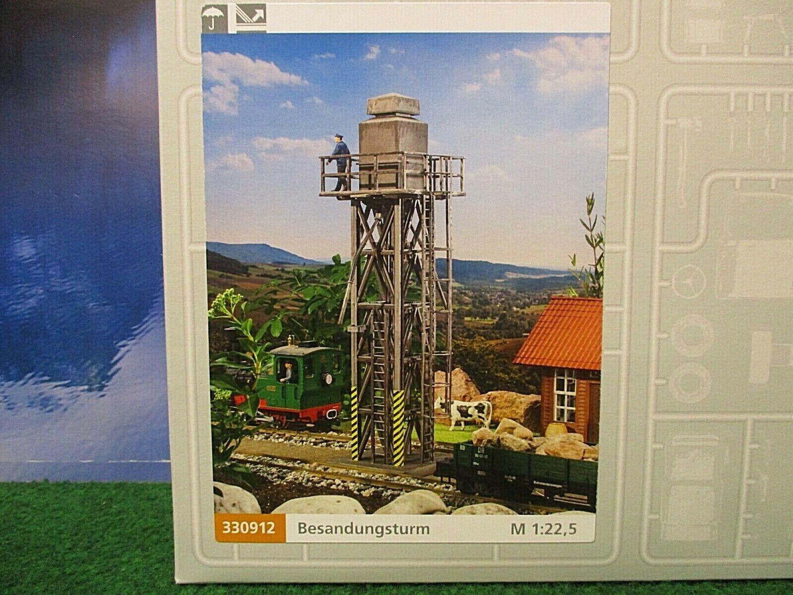 LGB pola G 330912 Torre de Lijado-perfecto Estado -