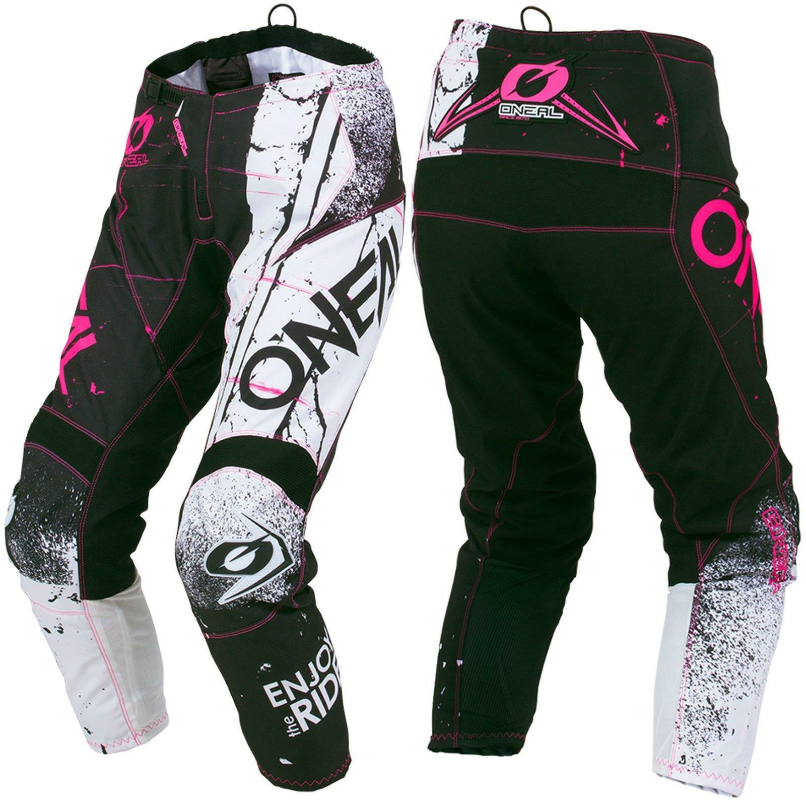 O'Neal Element Shred Womens Motocross Pants Pink Enduro DH MTB All Mountain Bike