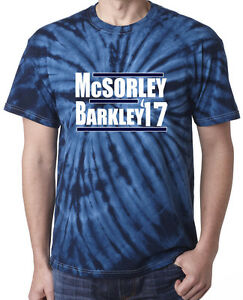 huge discount 2a139 6215d Details about Tie-Dye Saquon Barkley Trace McSorley Penn State 17 jersey  T-Shirt Shirt